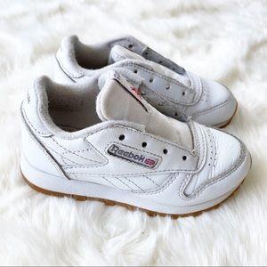 Reebok white classic sneakers